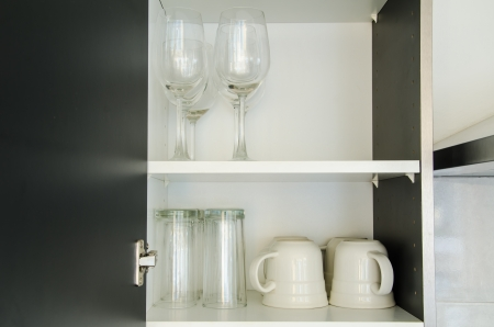 glass in Cabinet