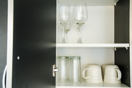 glass in Cabinet photo