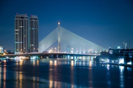 viii: Rama VIII Bridge in thailand