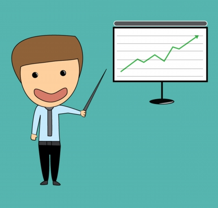 investor: business man stock investor vector