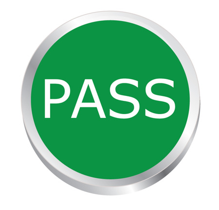 icon pass Vector