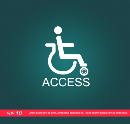 disabled access: disabled access icon