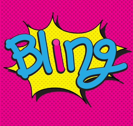 bing: text comic  bing Illustration