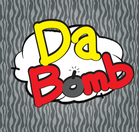 barrel bomb: text  comic dabomb