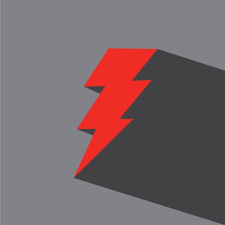 lightening: bolt vector icon