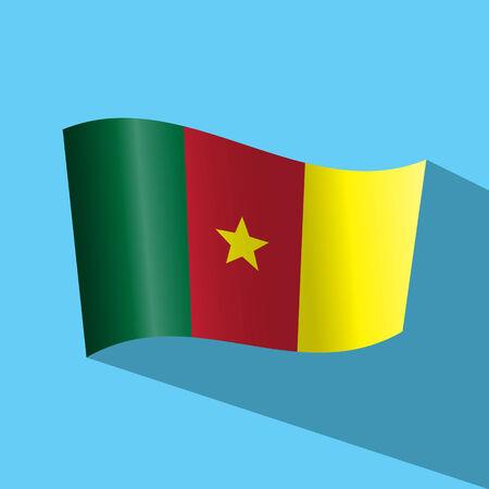 cameroon: cameroon flag vector icon