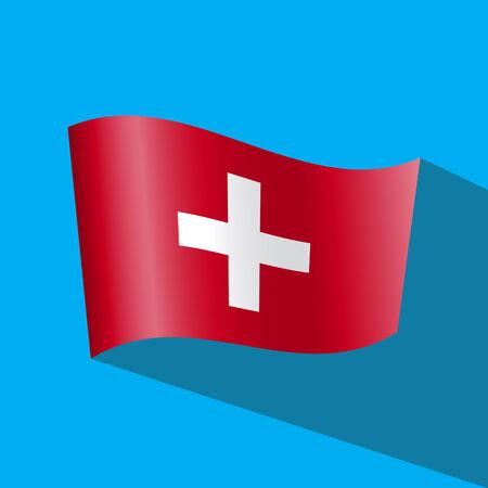 zwitserland vlag: Zwitserland vlag