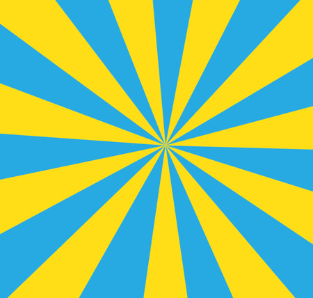 blue and yellow striped background vector Vector