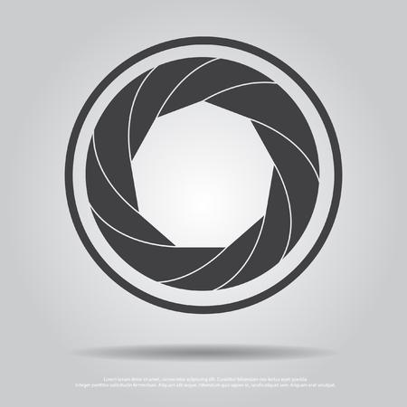 len: len camera vector icon