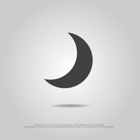 vecteur de lune icône Vecteurs