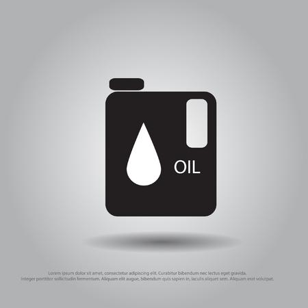 gal�n: vector icon gal�n de aceite