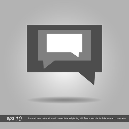 message box: message box  vector illustration eps10