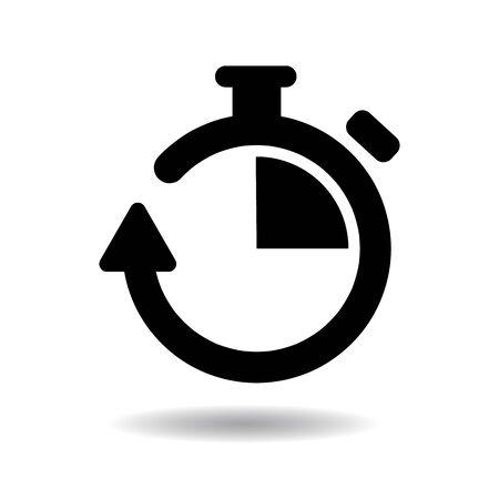 chronometer: Chronometer icon vector illustration  on white background