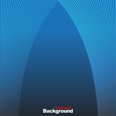 blue stripe: graphic lines design abstract background vector illustration eps10