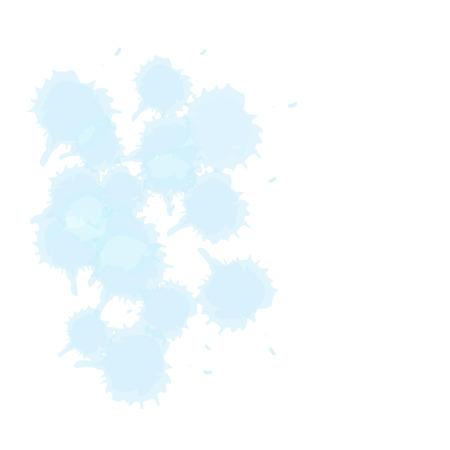 color drop: blue color drop vector illustration eps 10 Illustration