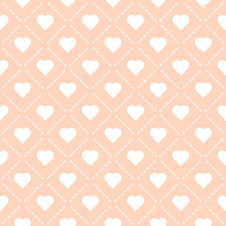 amor corazón patrón transparente vector ilustración eps 10