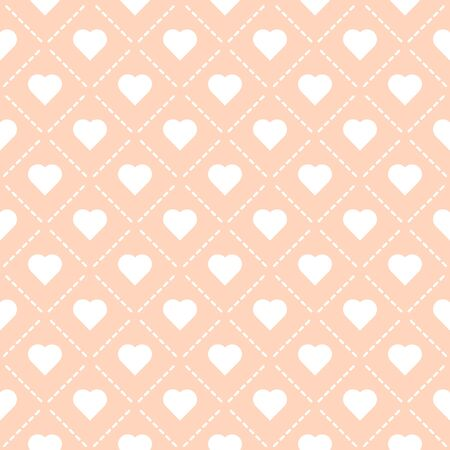 Liebe Herz Muster nahtlose Vektor-Illustration eps 10