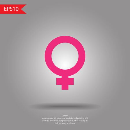 homosexual sex: female sign icon