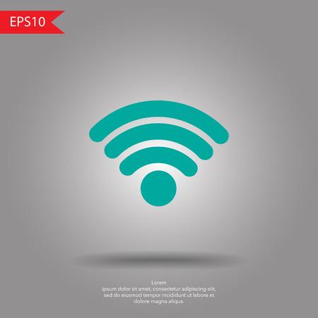 wireless icon: Wireless Icon, vector illustration
