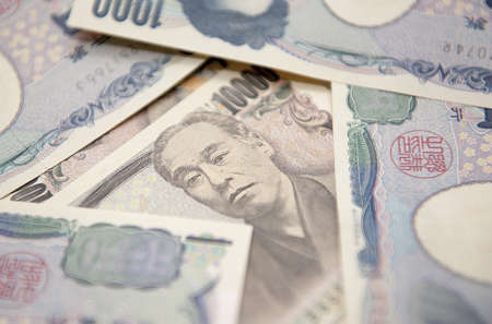 日本円 写真素材