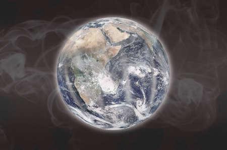mundo contaminado: Contaminado Tierra