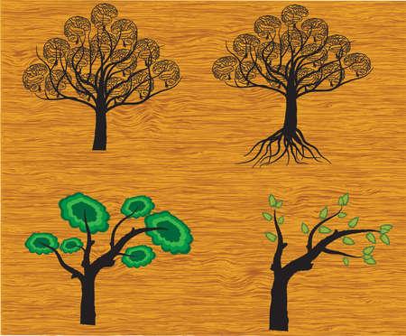 vector set of trees Vector