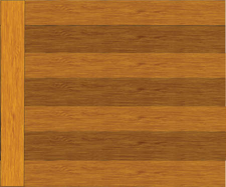 wooden background with place for your text Illustration