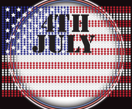 independance: American Flag, Vector background for Independance Day and other events  Illustration in EPS 10