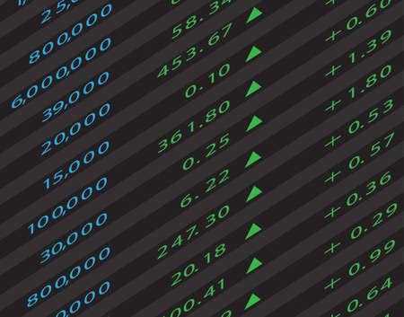stock market graph: 3d Render Stock Market Graph