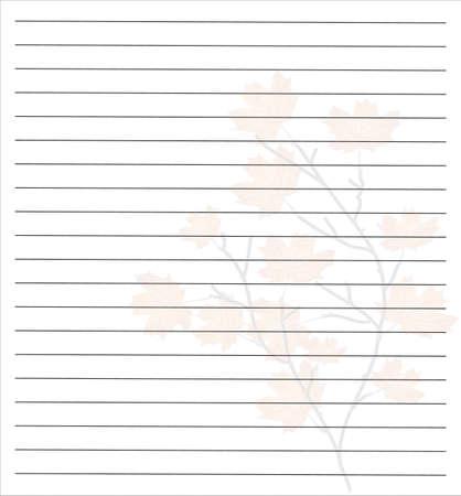 Note Paper Illustration
