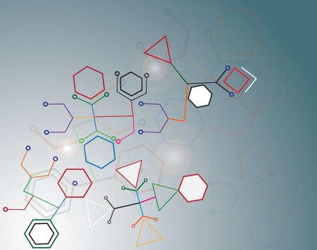 mediateur: reli�e par une cellule de couleur.