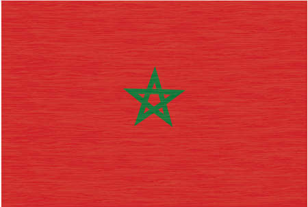 piedra laja: marruecos, bandera