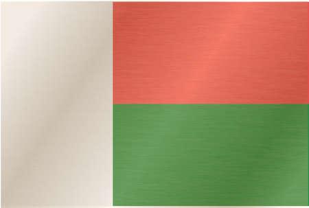 piedra laja: Madagascar-bandera