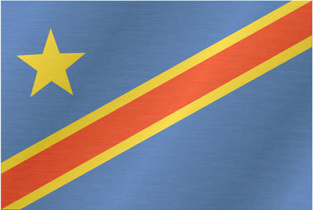 zaire: Flag of Democratic Republic of the Congo