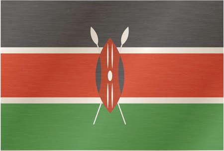piedra laja: Kenia-bandera