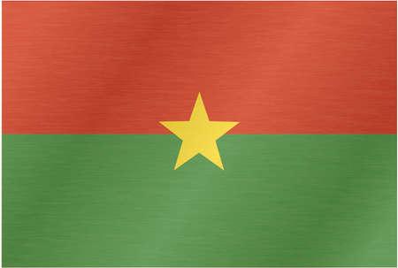 flagstone: burkina faso-flag