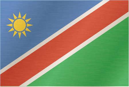 namibia: Flag of Namibia