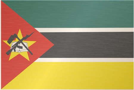 mozambique: Mozambique Flag
