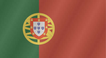 portugese: An illustration of the flag of Portugal