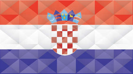 croatia: Croatia Flag Illustration