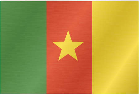 Republic of Cameroon. flag Vector