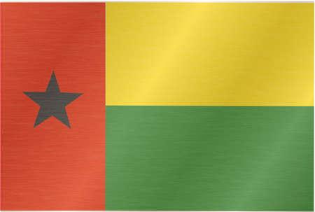 flagstone: guinea bissau-flag Illustration