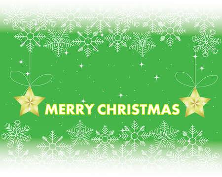 holiday - frame Merry Christmas - new year illustration Illustration