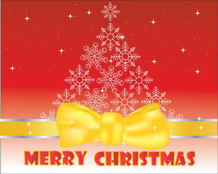 mirrow: Christmas Background  Vector  Illustration
