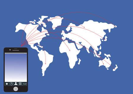 携帯電話ネットワーク、社会ネットワークの背景