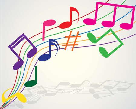 Signos Musicales a Color