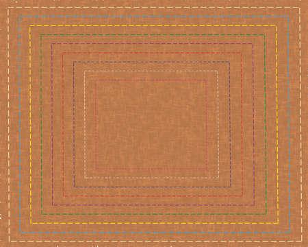 seam: Fabric an seam vector background