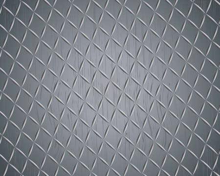 diamondplate: grunge diamond metal background