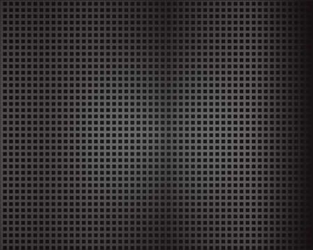 Black background of wire mesh pattern texture