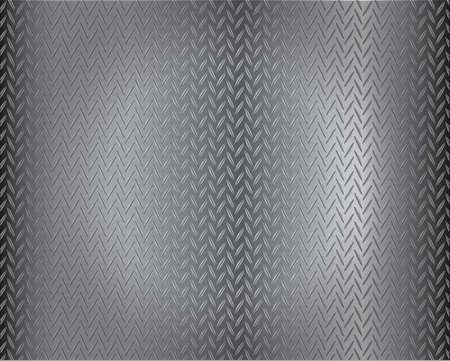 grunge diamond metal background Vector